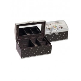 Jewelry box Paris with rounded cover