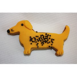 Gingerbread dogs