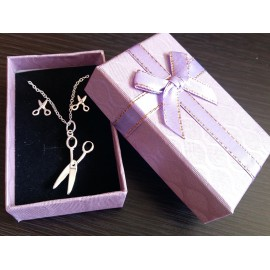Necklace and earring scissors