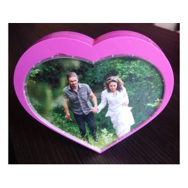 Music photo frame - heart