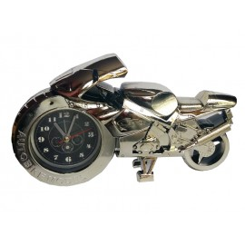 Clock track motorcycle