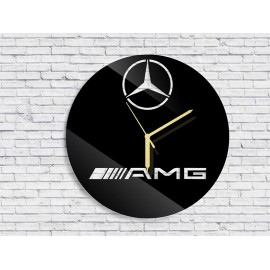 Wall clock Mercedes