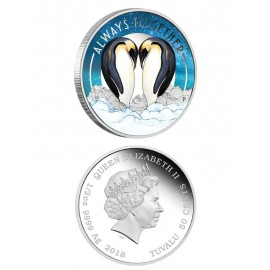 "Silver coin ""Always Together"""
