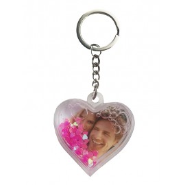 Keychain heart shape
