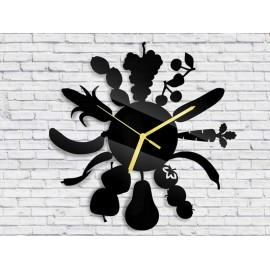 Wall clock food