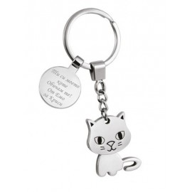 Keychain cat