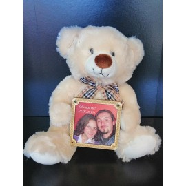 Teddy bear with your photo