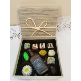 Chocolates for birthday or name day