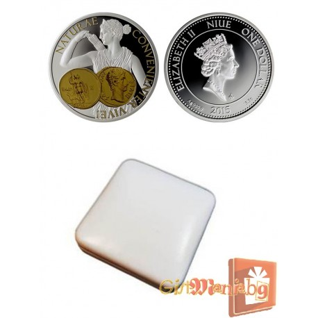 """Silver coin """"Diana - Goddess of Hunting"""""""