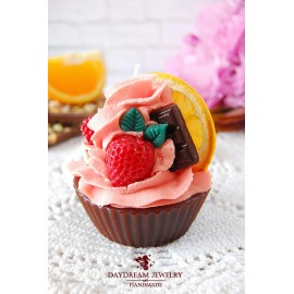 Aroma candle muffin