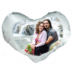 Pillow heart with your photo
