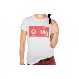 T-shirt chemical elements OMG