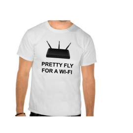T-shirt Pretty fly for a Wi-Fi