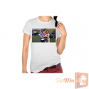 Woman t-shirt with your picture