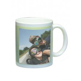 Phosphorescent cup with your photo